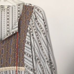 boho HAYDEN embroidered tunic dress